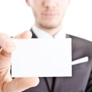Freelance: lascia sempre un biglietto da visita